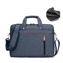 Wasserdichte laptop-tasche 17,3 17 15,6 15 14 13,3 13 12 zoll Business Schulterhandtasche Messenger Männer und Frauen unisex Computer tasche