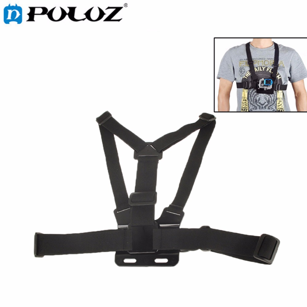 For Go Pro Accessories Chest Elastic Belt Shoulder Strap Mount Holder for GoPro HERO5 HERO4 Session HERO 5 4 3+ SJCAM SJ4000 gopro hero 5 accessories set helmet harness chest belt head mount strap monopod go pro hero 4 3 session 3 xiaomi yi black y20