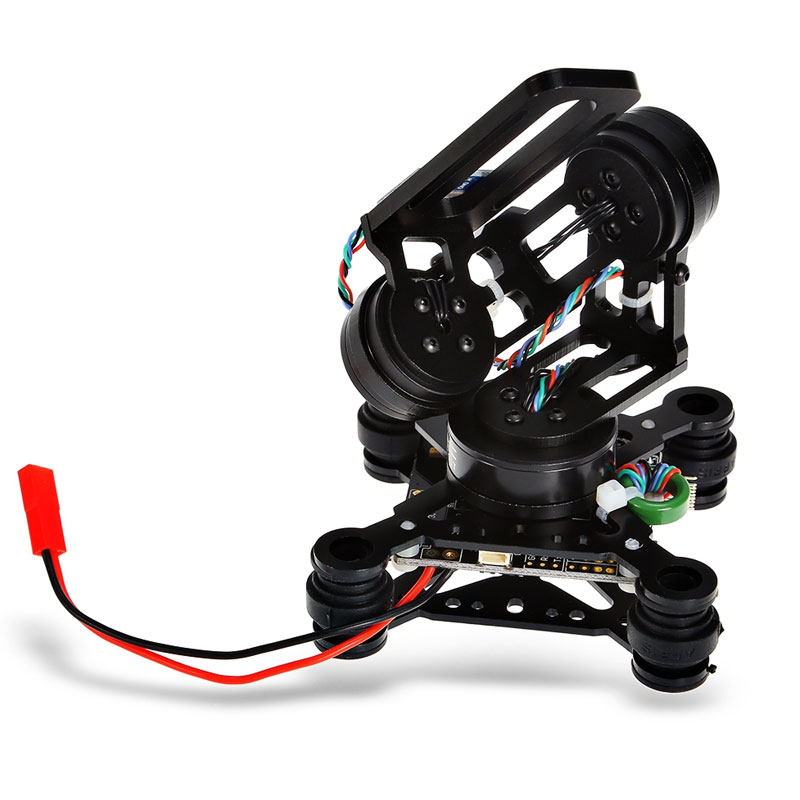 HAKRC Storm32 3-axis RC Drone FPV brushless gimbal accessory with motors and 32-bit Storm32 controller for gopro3 / Gopro4 gimba
