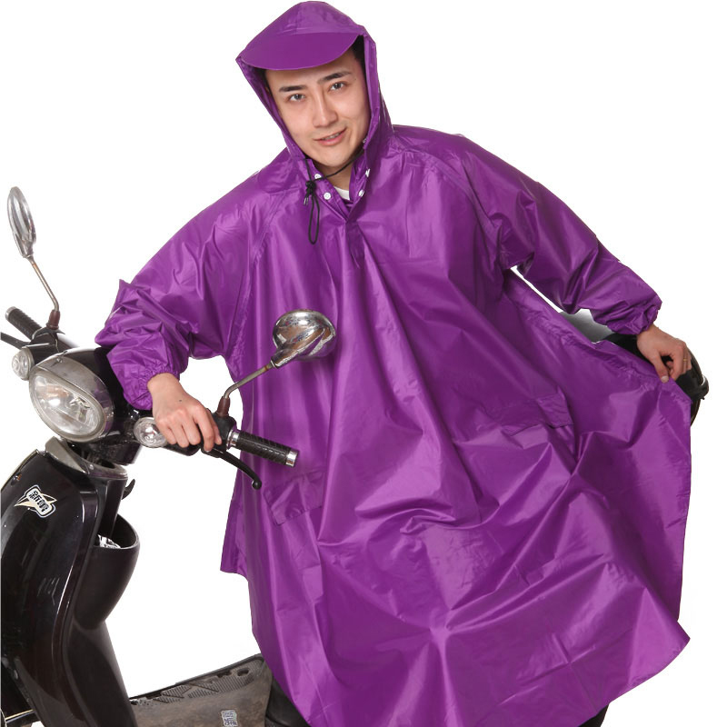 Waterproof Raincoat Men Outdoor Bike Motorcycle Long Cape De Pluie Regenjas Raincoat Electric Motorcycle QQG371