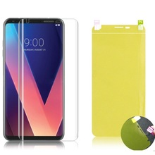 3D Full Cover Soft Protective Film For LG G8 Pixel 3 Xl V20 K8 K10 Front Screen Protector Nano Hydrogel Film Not Glass