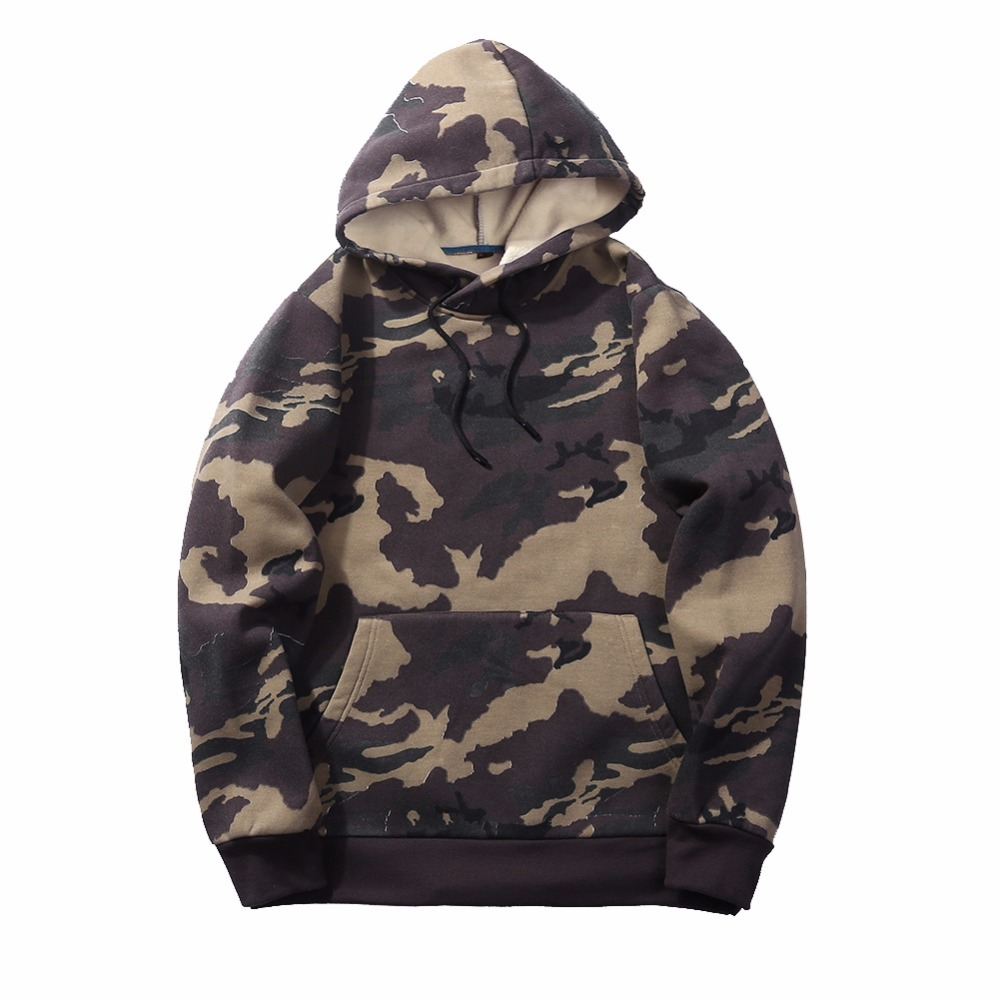 US $23.0 30% OFF|EUUS Size Mens Hoodies Sweatshirts Men Camo Army Military Fleece Hood Sweatshirt Camouflage Streetwear Male Casual Tops Clothes in