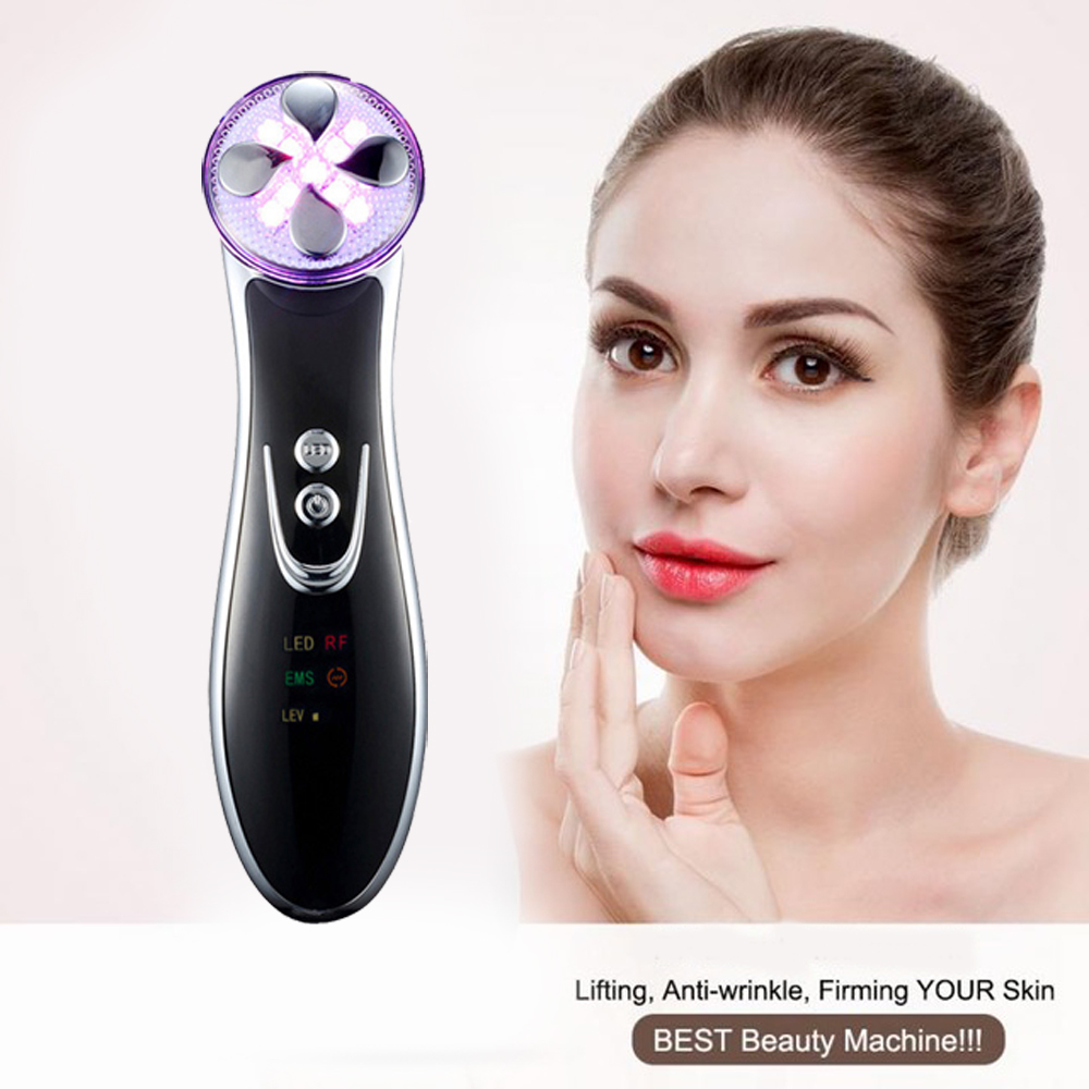 цены Heat Maggie LED Photon Beauty Instrument Facial Skin Rejuvenation Wrinkle Removal Whitening Tighten Face Lift skin care tools