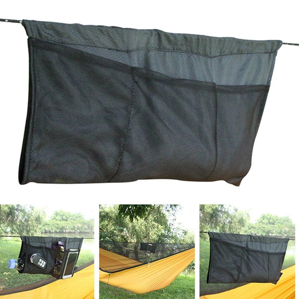 Легкая висячая Сумка-контейнер быстросохнущая высокая прочность нейлоновая ткань сетчатый карман для хранения на открытом воздухе гамак кемпинг