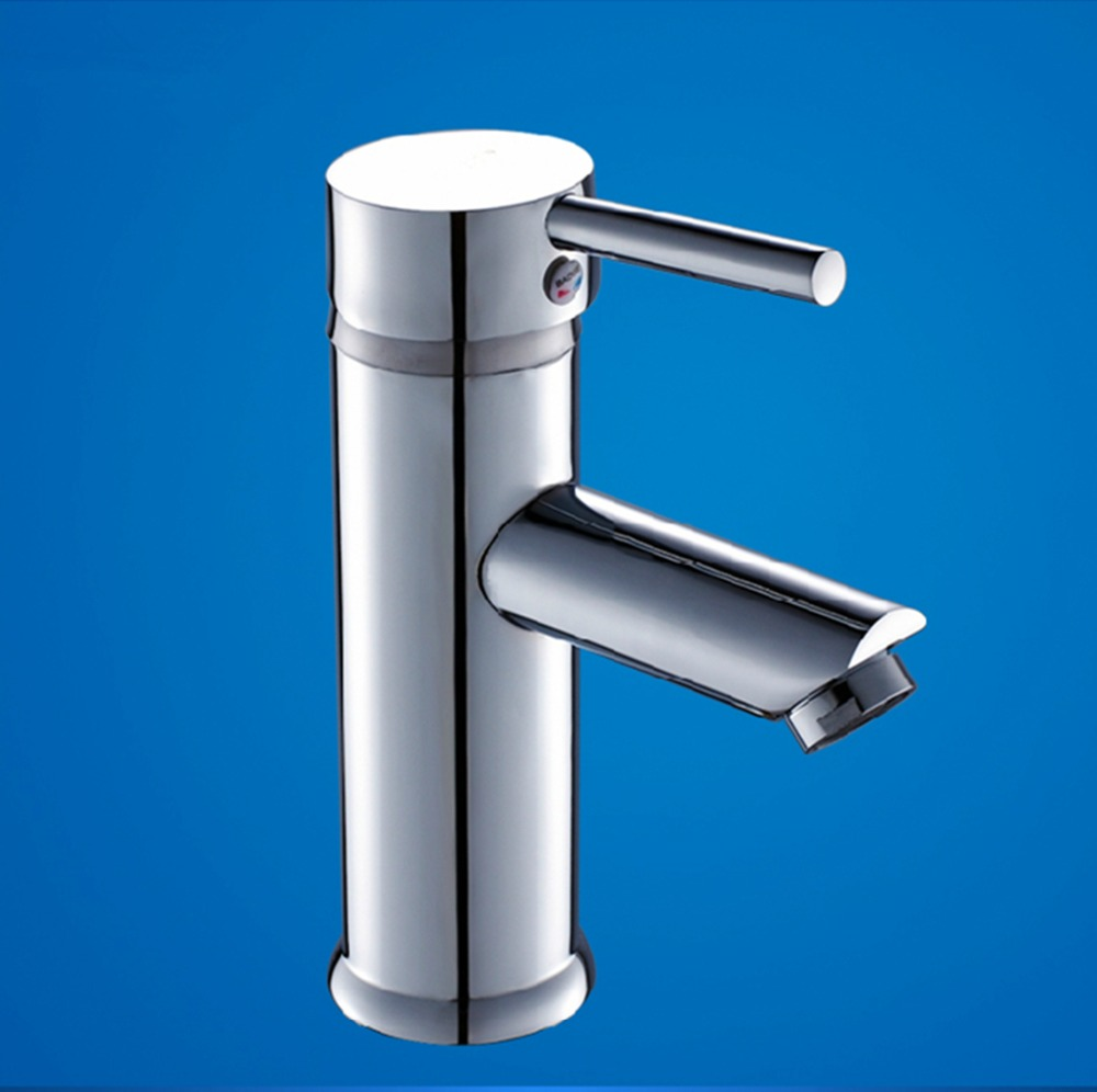 Brass Bathroom Single Handle Mixer Tap Chrome Finished: Free Shipping High Quality Brass Chrome Waterfall Bathroom