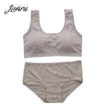 38014798f774 1 pieza adolescentes de algodón de la ropa interior de formación Bra  Conjunto para las chicas