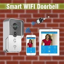 New Wifi video door phone doorbell Wireless Intercom Home Security For Iphone Samsung Tablet Control IP
