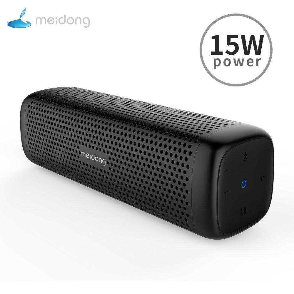 Original Meidong Md-6110 Tragbare Wireless Bluetooth Lautsprecher Stereo 15 W Tf Musik Subwoofer Metall Lautsprecher Für Compute Outdoor Um 50 Prozent Reduziert Unterhaltungselektronik