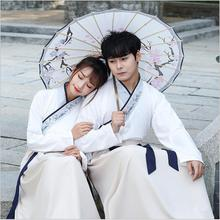 Unisex Original Hanfu GuangDong embroidered cross neckwear swords man woman style uniform Special costume Canton embroidery