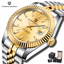 PAGANI Men's Watches 2019 Wristwatch Mens Watches Top Brand Luxury Watch Men Automatic/Mechanical/Fashion/Waterproof Watch Men pagani design automatic watch men waterproof mechanical watches mens self winding horloges mannen dropship