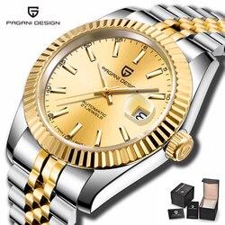 PAGANI zegarki męskie 2019 zegarek męskie zegarki Top marka luksusowe zegarki mężczyźni automatyczne/mechaniczne/modny/wodoodporny zegarek mężczyźni|Zegarki mechaniczne|   -