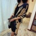 2016 nueva gran abrigo de lujo de algodón bufanda mujeres chal bufandas femeninas señoras del cabo tippet pashmina étnico largo foulard femme venta