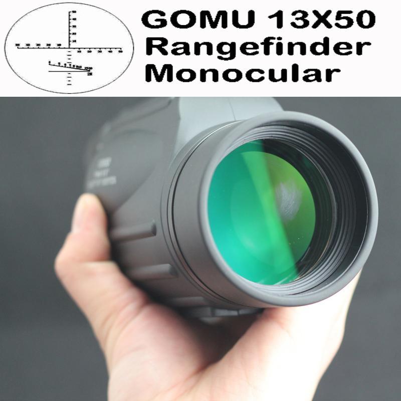 13X50 waterproof floating bird watch spotting scope font b rangefinder b font monocular telescope DY002