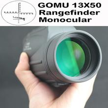 13X50 waterproof floating bird watch spotting scope rangefinder monocular telescope DY002