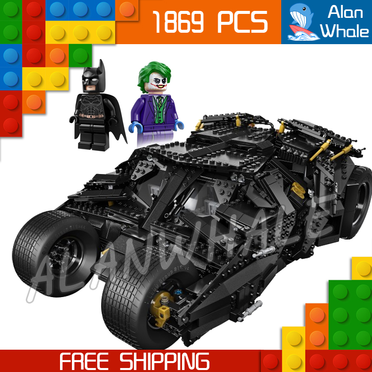 1869pcs Batman Decool 7111 DC The Tumbler Joker Model Building Blocks boys Bricks Toys Superman Compatible With Lego цена