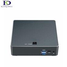 Лучшая цена 7TH Gen Процессор Intel Core i7 7500U до 3.5 ГГц HDMI LAN Тип-C 4 К Mini PC Настольный компьютер F300