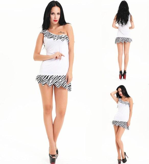 Kostenloser Versand Neuer Frauen Wilma Feuerstein Kostüm Kleid 5226
