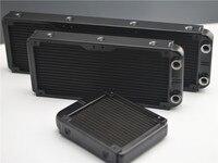 FormulaMod 120/240/360mm aluminium komputera wypływu Wody wymiennik ciepła cieczy z gwintem gwint chłodnicy do 12 cm wentylatory