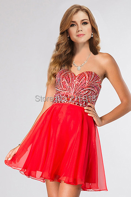 Online Get Cheap Red Short Prom Dress -Aliexpress.com - Alibaba Group