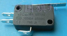 KW1-103-4 Induction cooker Microswitch Travel switch With handle 16A/250VAC