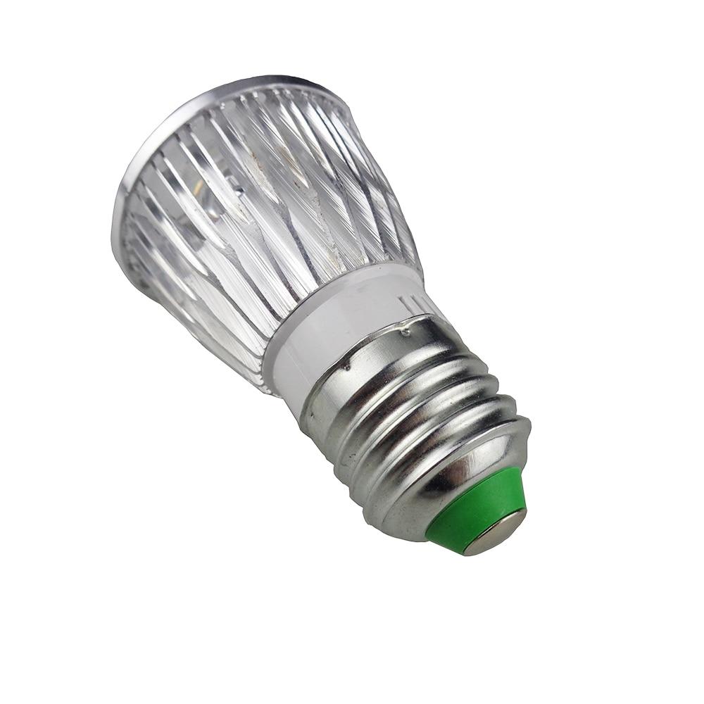 Svjetla za uzgoj biljaka 10W Osvjetljenje s novim 4Red + 1Blue E27 - Profesionalna rasvjeta - Foto 4