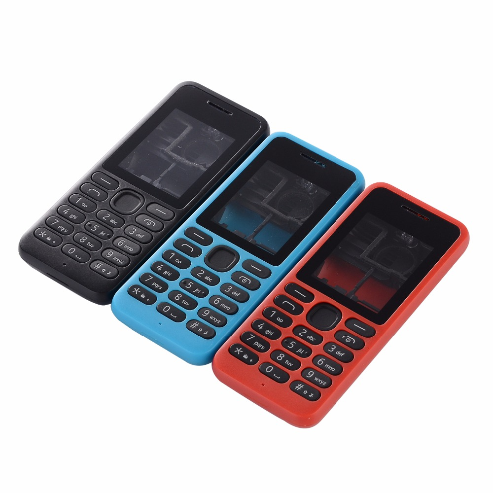 For Nokia 130 DS RM-1035 RM-1122 Full Housing Cover+English Keypad+Battery Cover+Tools