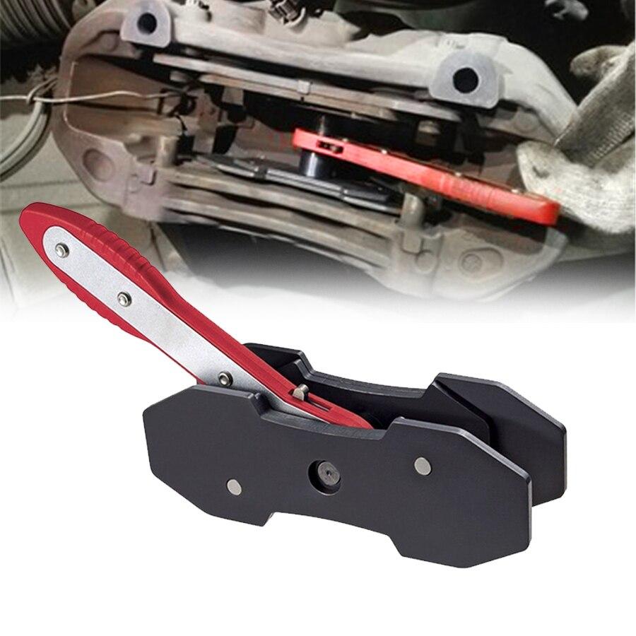 4 In 1 Ratcheting Brake Caliper Piston Spreader Press Tool Brake Caliper Press Twin Quad Separator Pad Install Tool