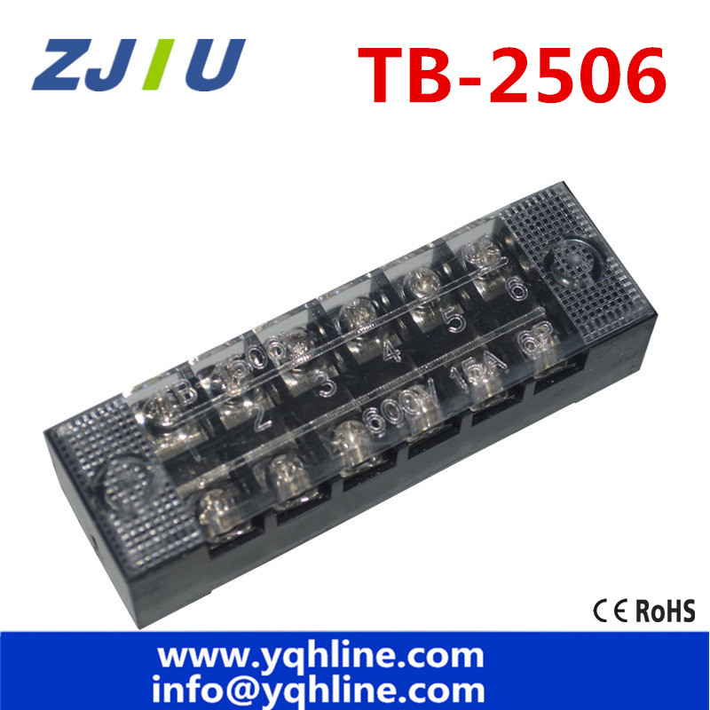 terminal blocks tb 2506 (25a 6p) patch panel wiring row junction box  5pcs/lot high quality wholesales!|terminal block|junction blockwire patch  panel - aliexpress  aliexpress