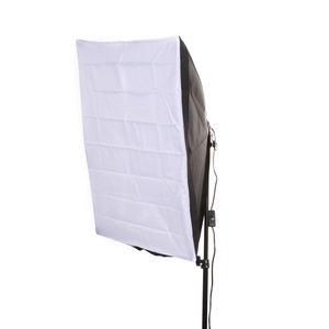 """Image 3 - 50x70 cm/20 """"x 28"""" Studio Licht Softbox Paraplu E27 Socket Licht Lamp Hoofd verlichting"""