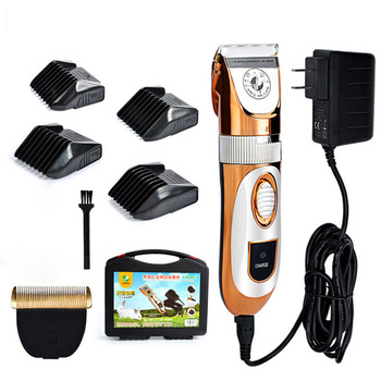 Professional Pet Trimmer Scissors Dog Cattle Rabbits Electric Hair Clipper 60W High Power cat Grooming Shaver Cutting Machine