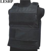 LESHP Bulletproof Vest Men Women Security Guard Vest Breathable CS tactical vest Waterproof Protecting Clothes