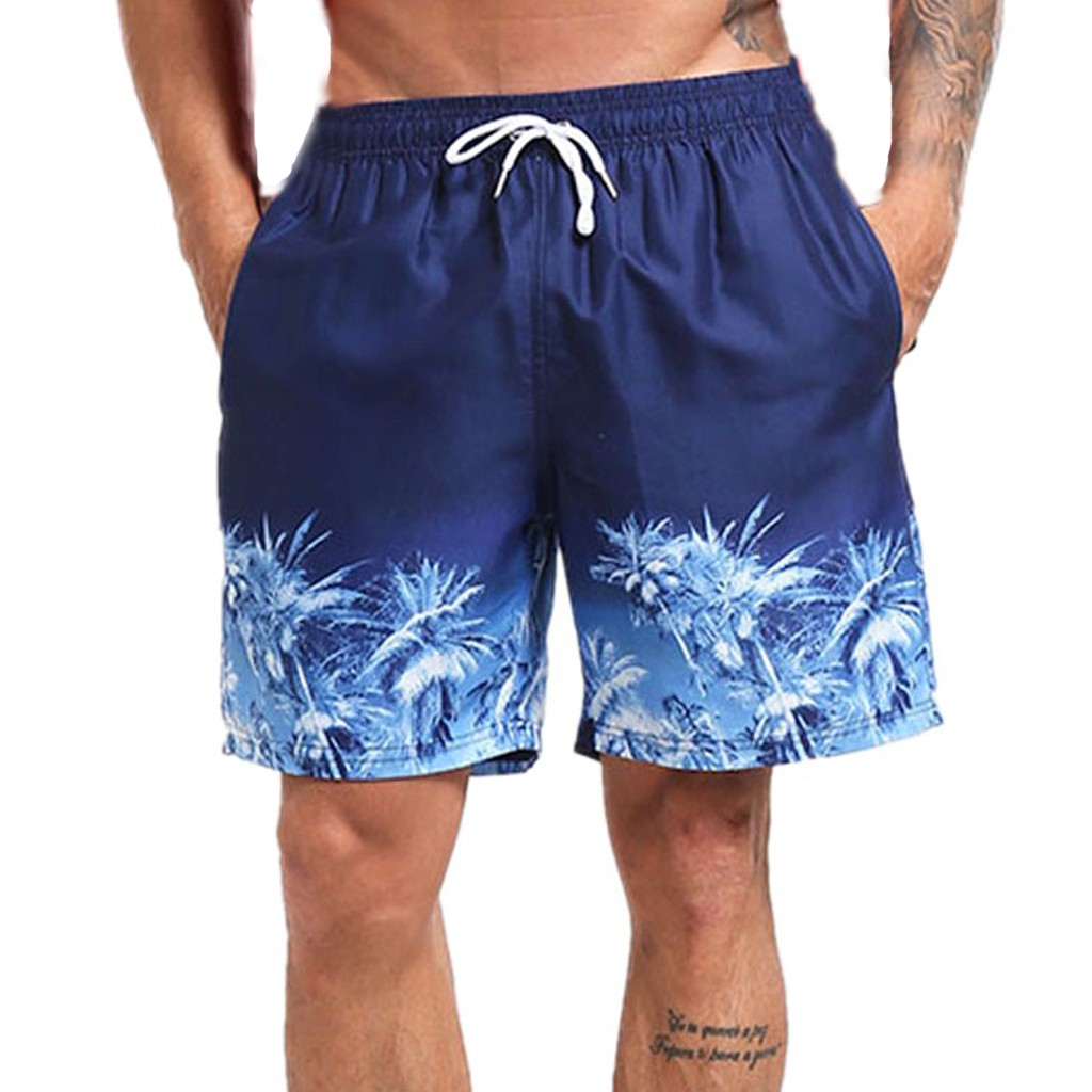 Men's Clothing Shop For Cheap Jaycosin High Quality Polyester Men Swim Drawstring Trunks Quick Dry Beach Surfing Running Swimming Print Short Pants Men Casual