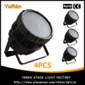 (4PCS) Outdoor 84*3W Par Led Waterproof RGBW Stage Lighting Effect KTV Club Disco Led Par Light