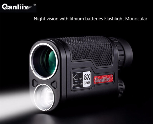 Qanliiy marke mm mini teleskope mit batterien nachtsicht
