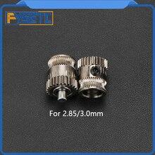 Привод комплект передач ID 8 мм двойной привод шестерни экструдер комплект клонированный Btech обновление для Prusa i3 3d принтер Боуден экструдер 2,85/3 мм Fila