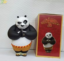 Action figure Kung Fu Panda Po lovely cartoon cute doll PVC 20cm box-packed movie figurine world anime 160311(China)