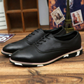 New Arrive Pu Dress Oxfords Shoes 2016 New Fashion PU Leather Men Shoes High Quality Men Casual Shoes Luxury Brand Shoes Men-E