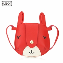 ULTRON Cartoon Cute Mini crossbody bag for kids girls small coin shoulder bag princess party handbags for kindergarten baby girl