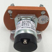 People DC contactor 24V Shanghai MZJ 200A/006 contactor optional other voltage