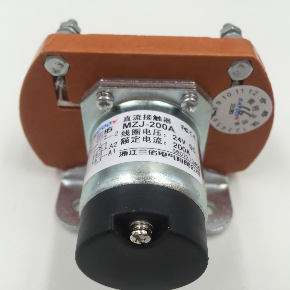 People DC contactor 24V Shanghai MZJ-200A/006 contactor optional other voltage