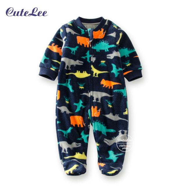 Natal do inverno engrosse velo romper do bebê recém-nascido de manga longa next roupas de bebê da menina do menino macacão barboteuse tutine neonato