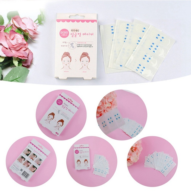 Japanese Instant Face Lifting Sticker Chin Cheeks Slimmer V Shape Makeup Tool