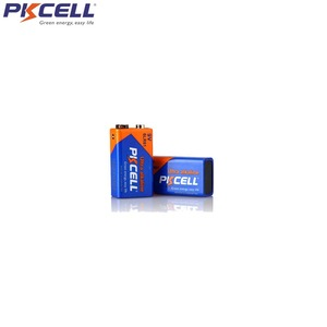 Image 3 - 5Pcs*PKCELL Battery 9V 6LF22 6LR61 PPP3 1604A Alkaline Battery Non Rechargeable 9V Battery Batteries for Electronic thermometer