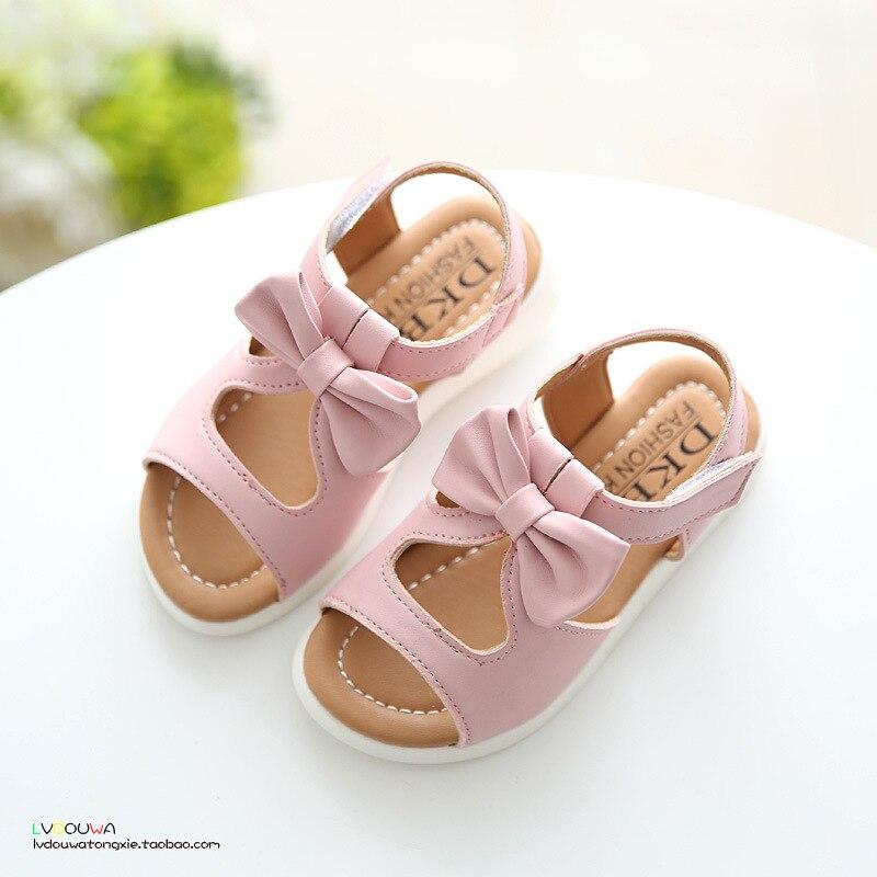 2018 Νέα άφιξη κορίτσια σανδάλια μόδα - Παιδικά παπούτσια - Φωτογραφία 2