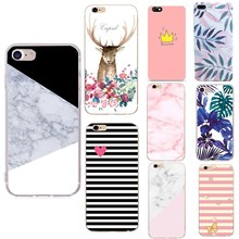 Фотография Artistic Leaf Phone Case For iPhone X 8 8 Plus 7 6 6S Cases Coque Soft Silicon Phone Bags For iPhone 6S 8 Cases