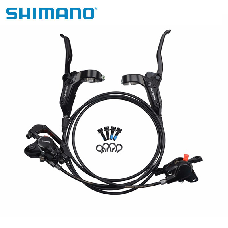 SHIMANO BR-BL-M315 MTB Bike Hydraulic Disc Brake Set Clamp Mountain for Deore/XT Brake Bicycle Disc Brake & Brake Sheet Screws 2016 new shimano m4050 hydraulic brake intergrate with 3x9s 27s shift lever mtb mountain bike calipers left