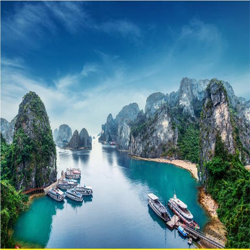 Beibehang Beautiful Scenery Tourism Scenic Scenery High