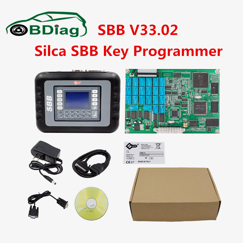 Prix pour Meilleur Qualité CFF V33.02 Auto Clé Programmeur Silca CFF V33 Non Jetons Limitée CFF Clé Programmeur CNP Livraison Gratuite