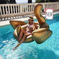 Гигантские Надувные ПВХ Золотой Белый Черный Лебедь Всадник Надувные Ездить На Игрушки Воды, Вода в Бассейне Плавает День Рождения Часть Подарок