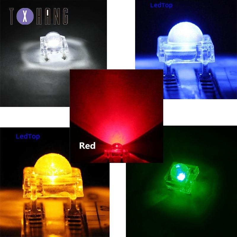 5 V Super brillante LED de luces de tablero 9 Piranha Noche Lámpara Blanco 3*3 BSG
